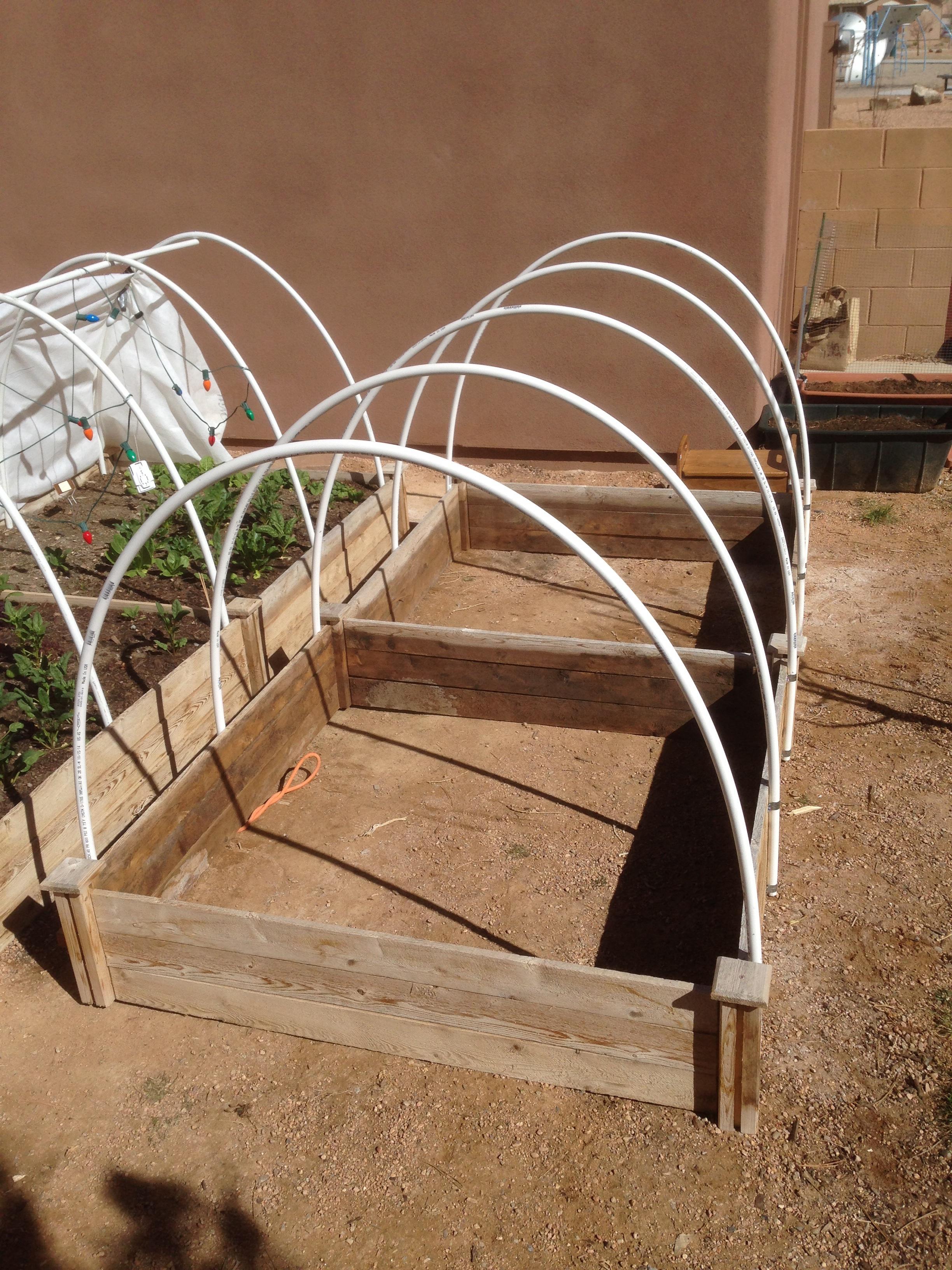 Santa Fe Hoop House Garden
